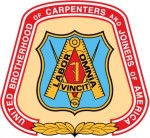 The international union logo for the United Brotherhood of Carpenters and Joiners of America.